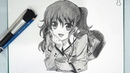 How To Draw Animes Girls For Beginners Drawing Nao Tomori