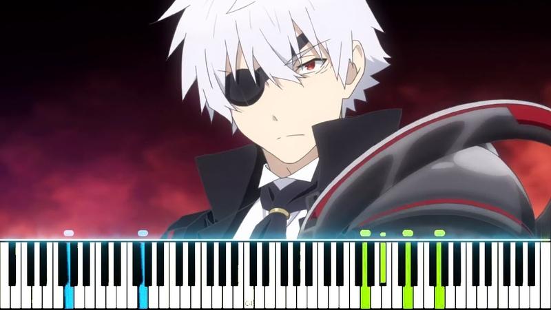 Arifureta Shokugyou de Sekai Saikyou OP FLARE Void Chords feat. LIO Synthesia Piano Tutorial