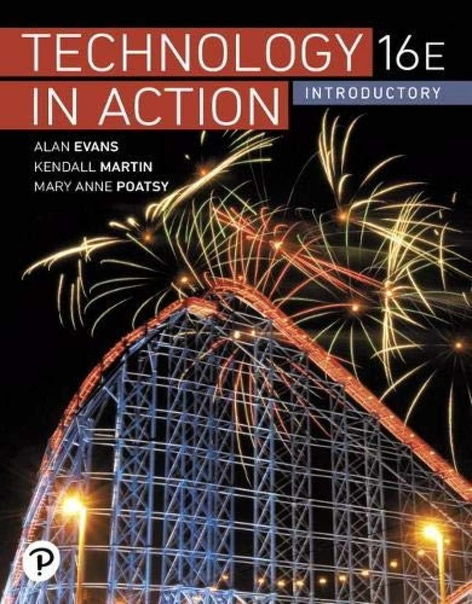 Technology in Action  Complete 16th ed 2020