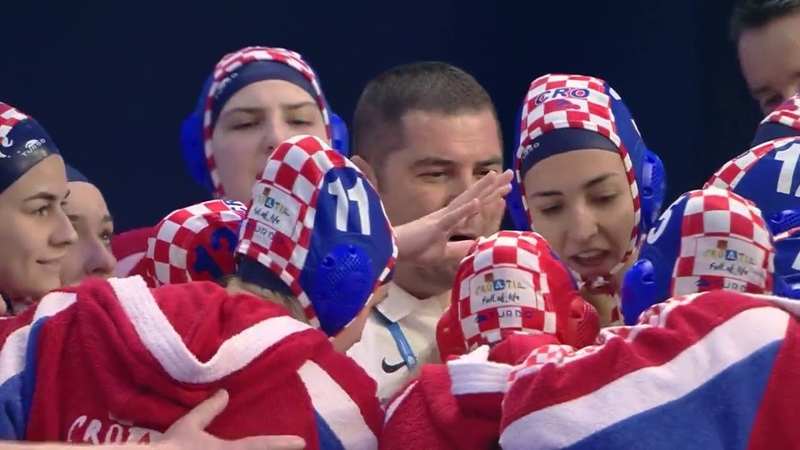 Russia vs Croatia - Euro Waterpolo Women Champ. 2020 - Preliminary, Day 4