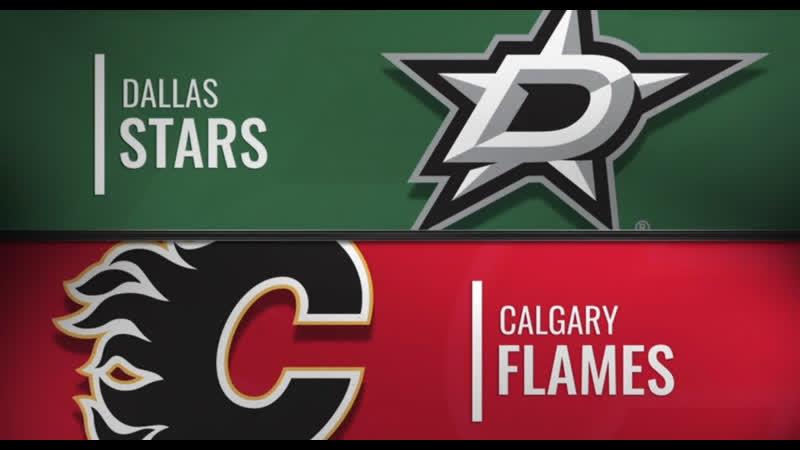 NHL Regular Season 2019-20 Dallas Stars-Calgary Flames