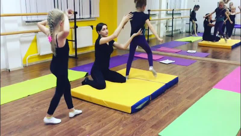 Цирковая гимнастика, группа 6-8 лет Эрвье, 10