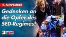9 November Gedenken an die Opfer des SED Regimes AfD Fraktion im Bundestag