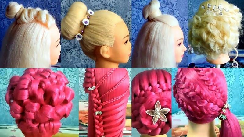 Топ 10 Прически в школу шаш өру түрлері оңай және әдемі Beautiful hairstyles for school