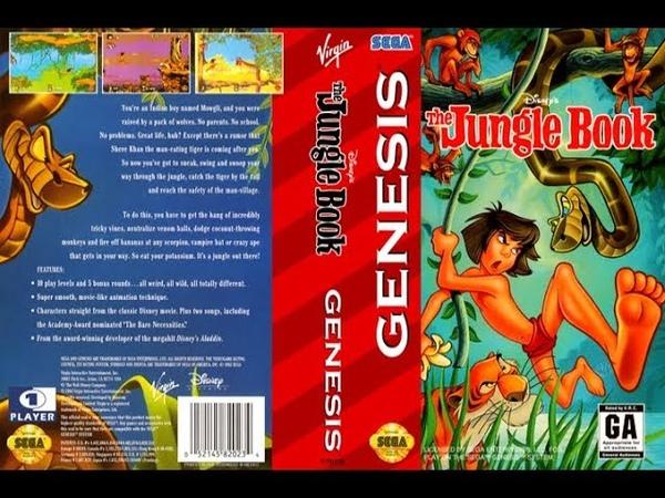 The Jungle Book (SEGA) - Gameplay