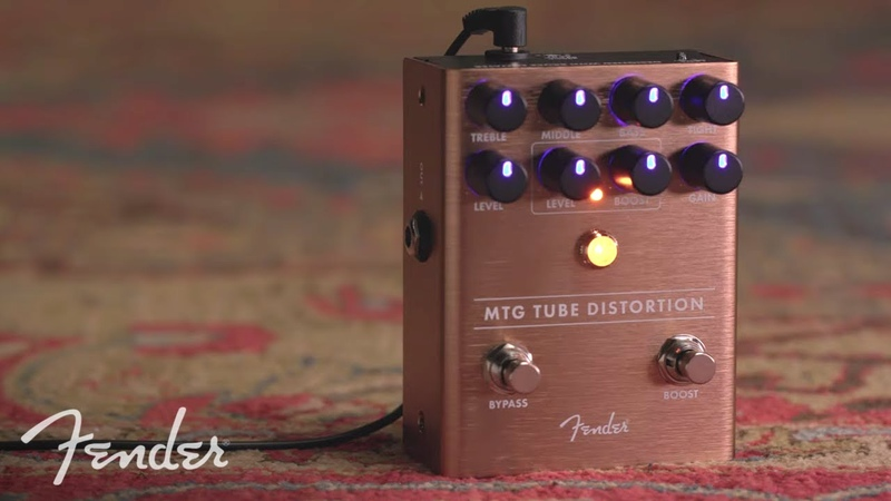 MTG Tube Distortion Demo   Effects Pedals   Fender