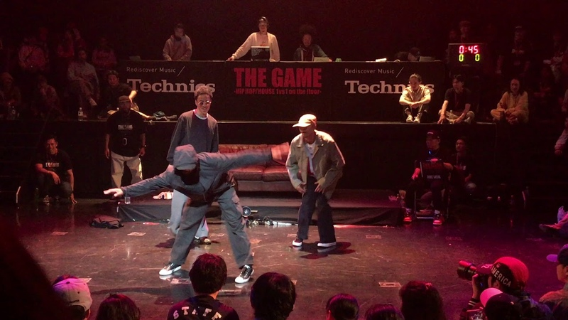 KYOGO oSaam AMRI JUDGE SESSION THE GAME 2019 DANCE BATTLE