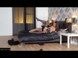 Ryan Ryder & Tina Kay [ In stockings,Чулки &  Brunettes / Beautiful lingerie, Crempai, Pussy, Deep blowjob, In clothes, In