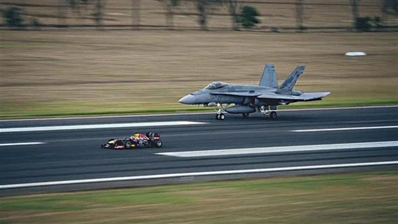 Formula 1 vs All Others - F/A 18 Hornet, Ferrari, V8 Supercar, Super Bike, Rugby, Power Boat