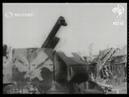 French anti-aircraft guns attack German observation balloons (1916)