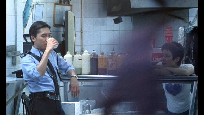 Chungking Express / Chung Hing sam lam (1994) - Cop 663 and Faye Scene