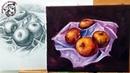 Pintura al Oleo Paso a Paso | Como Pintar Manzanas Realistas al Oleo 1/2