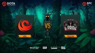 Hokori vs Gorillaz Pride, Dota Pro Circuit 2021: S1 - SA, bo3, game 2 [Lex & GGS]