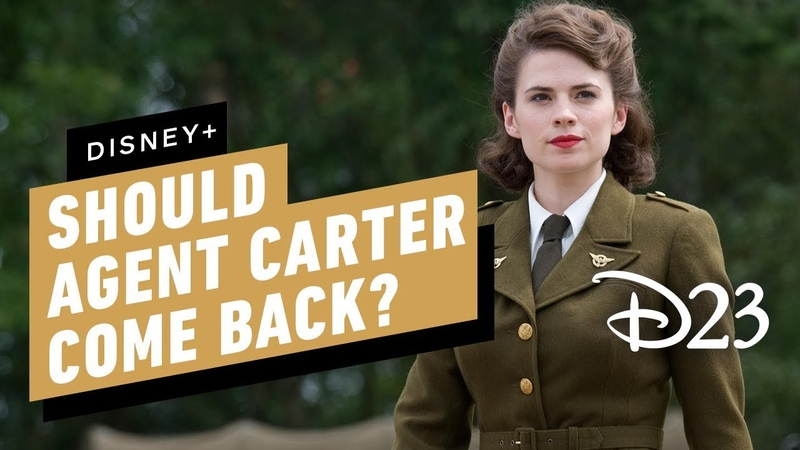 Hayley Atwell on Whether Agent Carter Should Come Back on Disney - D23 2019