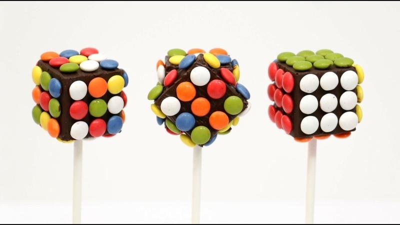 RUBICK M M Chocolate POPS How To Make by CakesStepbyStep