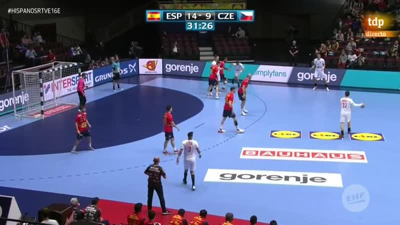 Campeonato de Europa Masculino España Repblica Checa