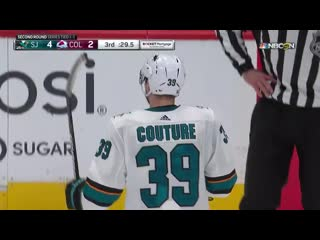 Round 2, Gm 3: Sharks at Avalanche Apr 30, 2019