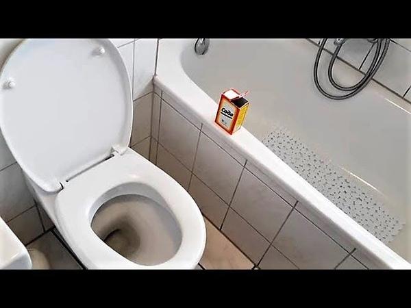 СОДА - КАК БЫСТРО ОТМЫТЬ ТУАЛЕТ И ВАННУ.Cleaning Your Toilet and Tub Naturally