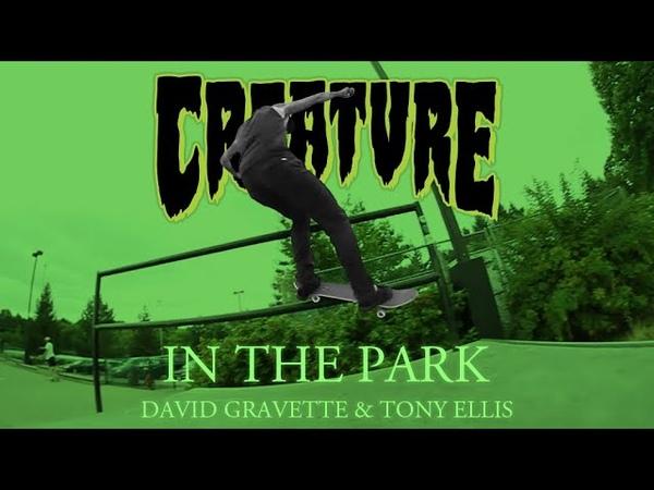 In The Park David Gravette Tony Ellis Skate DemoLITION @ THPRD Skatepark