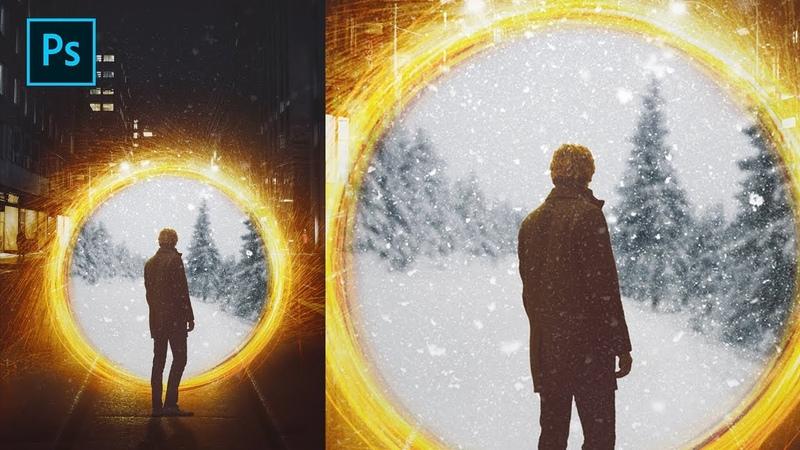 Photoshop | How to create Portal Effect Like Doctor Strange | Tutorial
