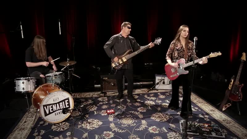 Ally Venable Band Devil's Son Live Paste Studios New York NY 720p HD
