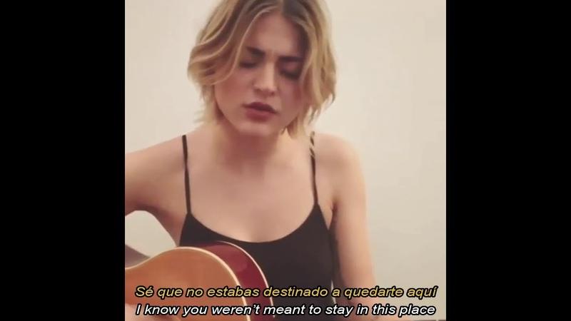 Frances Bean Cobain le dedica canción a Kurt Subtitulada