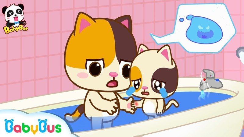 Kitten Timi, Be Careful Not To Get Scalded   Play Safe Song   Nursery Rhymes   Kids Song   BabyBus