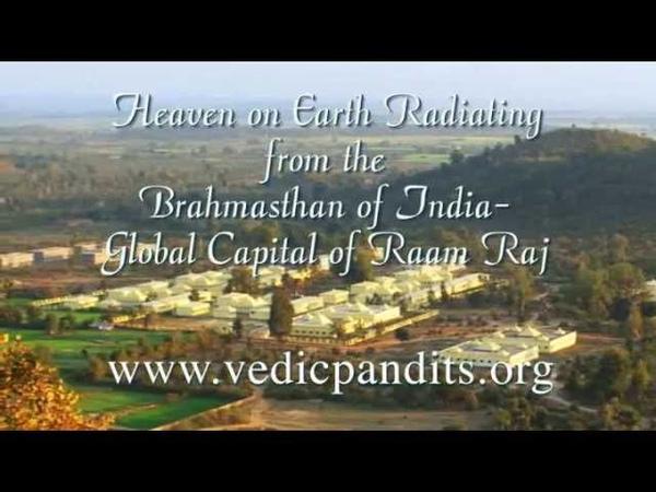 Brahmasthan Slideshow of Vedic Pandits with chanting from Rudrabhishek