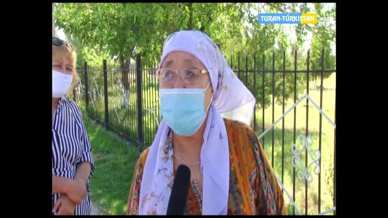 Тұран Түркістан Кентау мектеп оқушылар ҰБТ тапсырды
