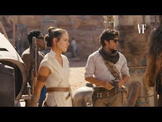 Star wars  episode 9 - the rise of skywalker (on set exclusive - vanity fair)