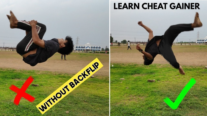 Learn Cheat Gainer without Backflip | Easy way to learn Cheat Gainer | Rajkumar karki