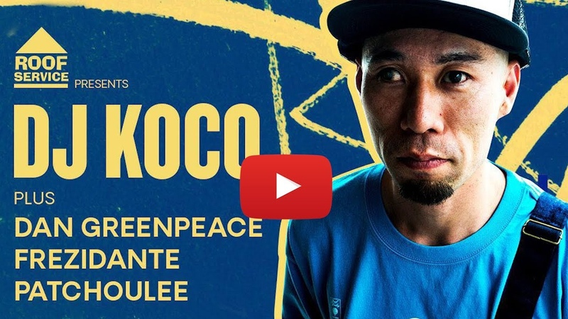 DJ Koco aka Shimokita Dubai 2019 Dan Greenpeace Patchoulee Frezidante (45's Set)