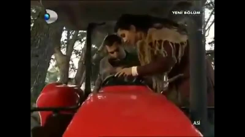 Asi den traktör kullanmanın incelikleri djdfdjdf Asi TubaBüyüküstün MuratYıldırım