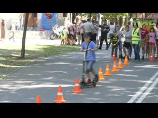 Лето без опасности. Самарским школьникам в игровой форме разъяснили правила дорожного движения