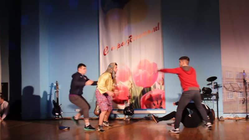 Выступление кудоистов школы 24