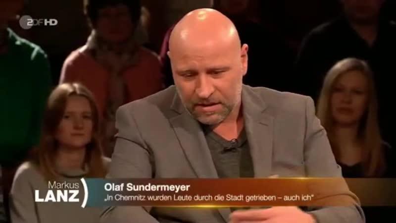 Hans-Georg Maaßen bei einer lebhaften Diskussion über Migranten, Medien, Rechtsextremismus