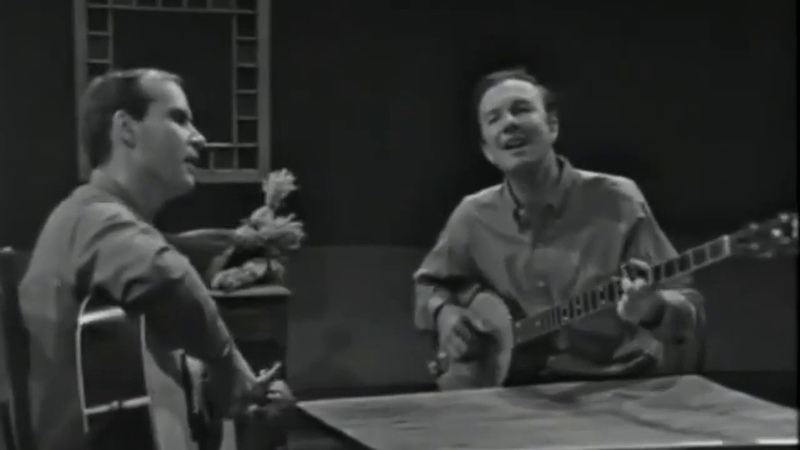 Tom Paxton And Pete Seeger Rambling Boy 1960s
