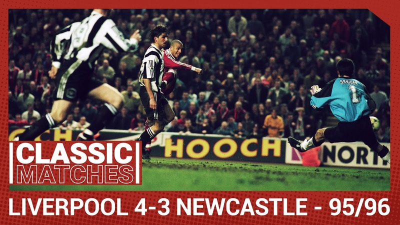 Premier League Classic Liverpool 4 3 Newcastle Incredible late drama at Anfield