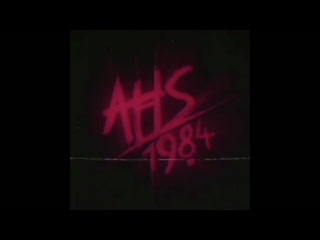 American horror story 1984 (main title sequence)