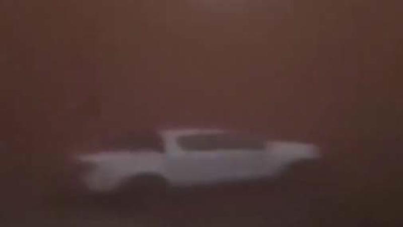 Песчаная буря обрушилась на Австралию в один миг превратив белый день в ночь