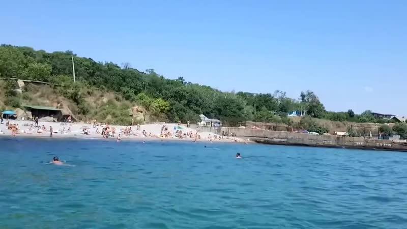 Нудисты в Одессе Чкаловский пляж Nudists in Odessa