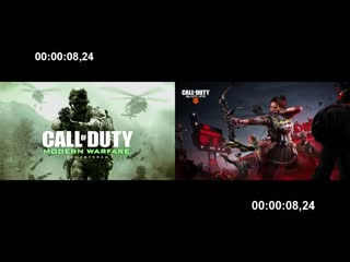 I really hope we get skipable intros back. after comparing the two clips, look how long it takes bo4 to load.