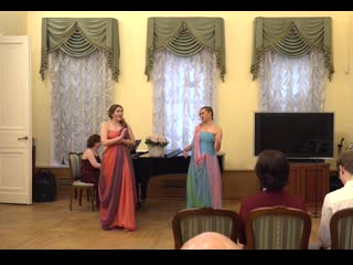 """Валентина и Анастасия Фокины - """"Цветочный дуэт"""" / Flower duet"""