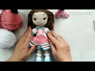 Презентация мастер-класса Кукла Яночка Вязание крючком