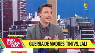 """Escándalo por el """"Me gusta"""" de la mamá de Tini a  un posteo contra Lali Espósito"""
