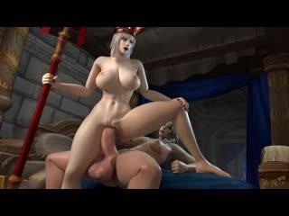 Jaina proudmoore x sally whitemane [futa, big dick, anal, porn, 3d, r34]