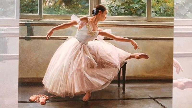 Балетная живопись Современный живописец Александр Акопов
