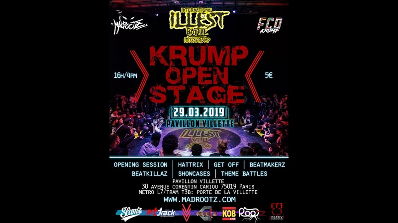 GET Off Liveness FINAL Wood vs Famouz I KRUMP OPEN STAGE FCD KRUMP MADROOTZ