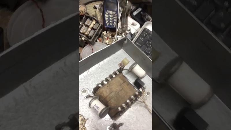 Сборка лампового трансивер 2