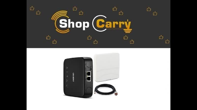 ShopCarry RA40N Роутер 4G 3G GSM WIFI RJ-45 с антенной направленной уличной Комплект